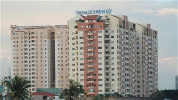 Kiểm tra xây dựng không phép tại chung cư Khánh Hội 1