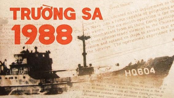 Trường Sa 1988: Biển Đông căng thẳng vì dã tâm xâm lược
