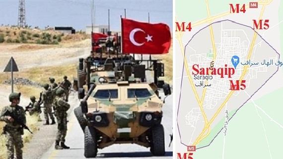 Idlib: Quân Thổ Nhĩ Kỳ bất lực, phiến quân chặn đứng M4