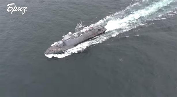 Ukraine khoe đã buộc tàu tuần duyên Nga phải rút lui?