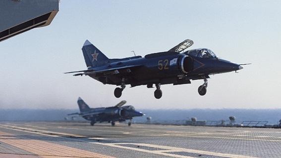 Những cánh chim trên hạm mạnh nhất của Liên Xô/Nga