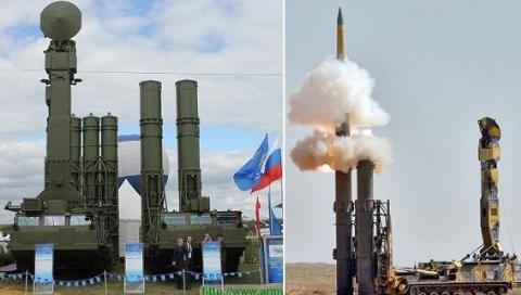 Lộ tốc độ bay siêu nhanh của tên lửa S-300V4