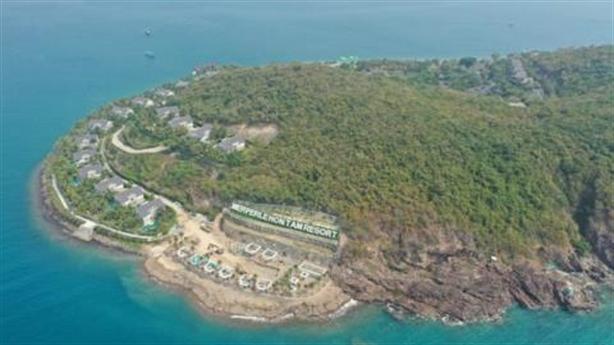 Dự án phá nát đảo Hòn Tằm: Rặng san hô gặp nguy