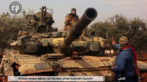 Thổ Nhĩ Kỳ chiếm được xe tăng