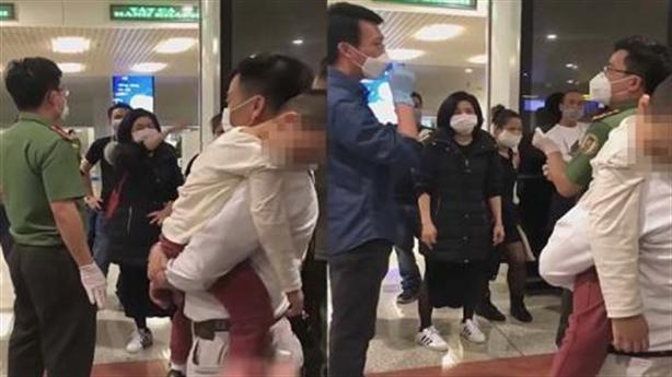 Người Việt từ vùng dịch về náo loạn sân bay: Ngượng thay!
