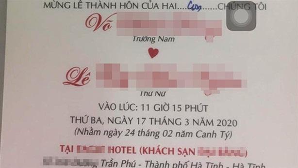 Đám cưới khủng con nguyên GĐ Sở: Bí thư không dự vì...