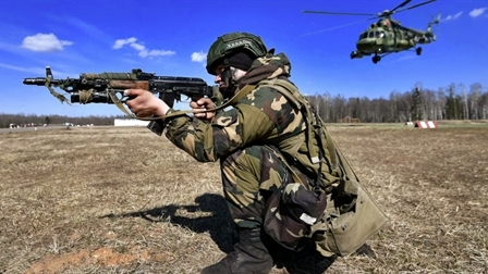 Nga có lo khi Belarus hợp tác quân sự với Ukraine