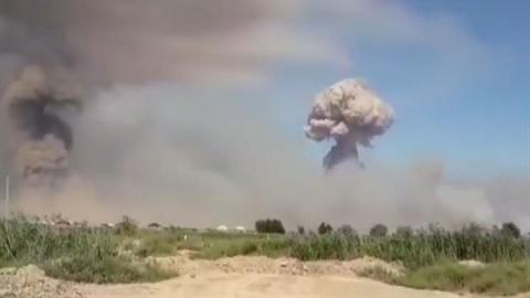 Căn cứ Hmeimim thiệt hại nặng khi 300 tên lửa tấn công?