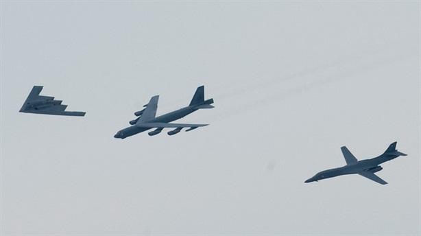 Lực lượng máy bay ném bom Mỹ ở đâu so với Nga