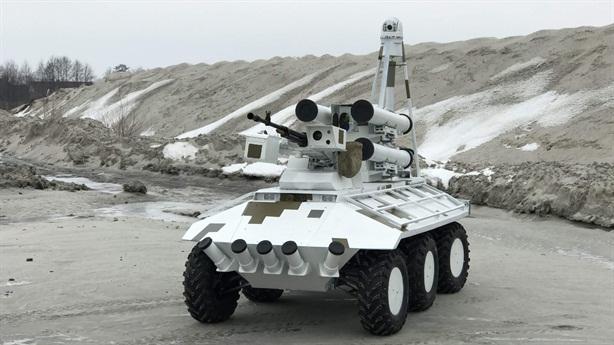 Robot chiến đấu Ukraine diệt mọi mục tiêu cách 5.000m