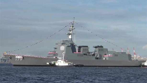 Trang bị tàu Maya, Hải quân Nhật Bản sẽ rất mạnh