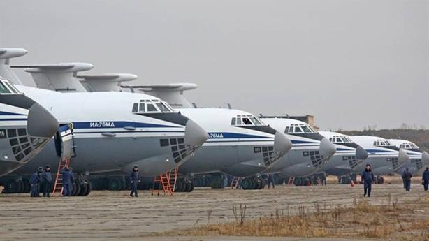 Nga chuẩn bị 9 máy bay vận tải quân sự đến Ý