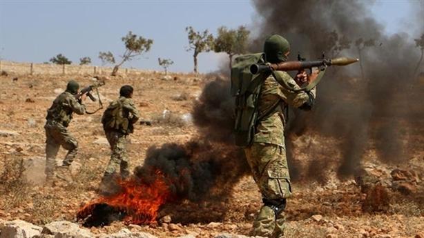 Phiến quân bất ngờ tấn công binh sĩ Ankara?