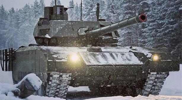 Xe tăng Đức đủ sức biến T-14 thành 'nạn nhân'