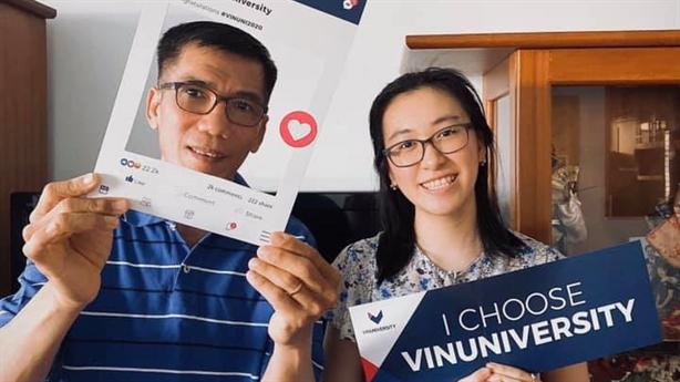 Nữ sinh Nhật Bản giành học bổng toàn phần của VinUni
