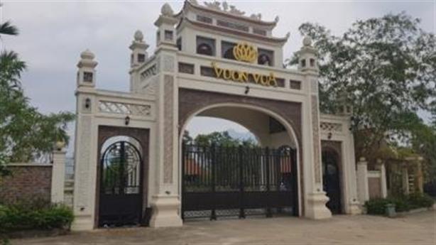 Thăng Long Phú Thọ sai phạm thế nào tại Vườn Vua?