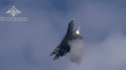 Báo Sina: Nga dùng kỹ xảo trong video Su-57 phóng tên lửa