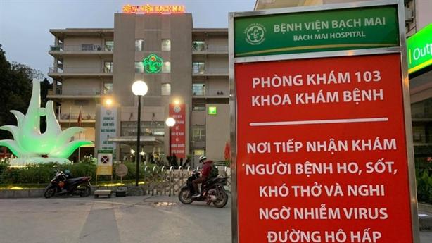 Nóng: Thêm hai ca Covid-19 từ Bệnh viện Bạch Mai