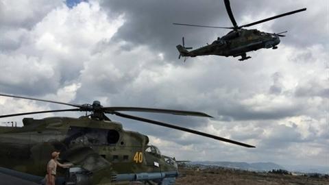 Lính Nga 'trục xuất' lính Mỹ khỏi căn cứ tại Syria