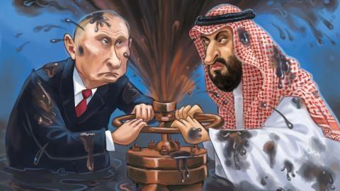 Cuộc chiến giá dầu: Mỹ nắm dây thòng lọng?