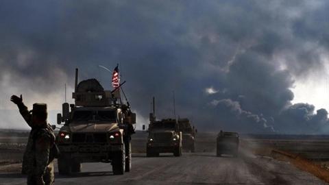 Lính Ankara nã pháo vào đoàn xe quân sự Mỹ tại Syria