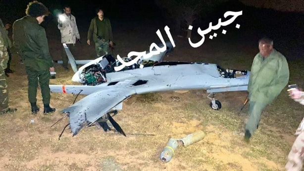 Máy bay Thổ rơi không vết bắn tại Libya