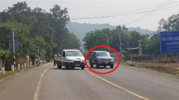 Cập nhật vụ cướp ôtô, tông CSGT để trốn cách ly