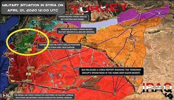 Quân Thổ nã pháo Saraqip, SAA chờ lệnh ra đòn quyết định