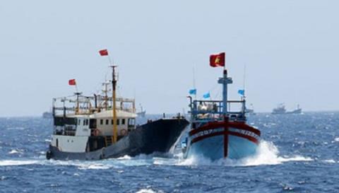 8 ngư dân mất tích ở Hoàng Sa đã an toàn