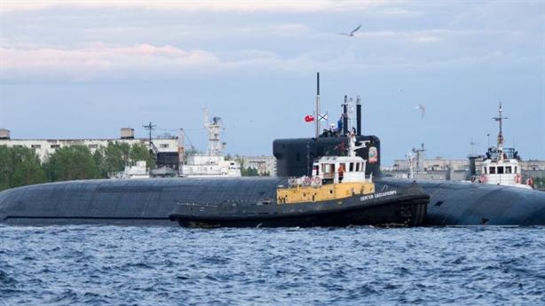 Nga tiếp nhận tàu ngầm mang trăm tên lửa siêu thanh