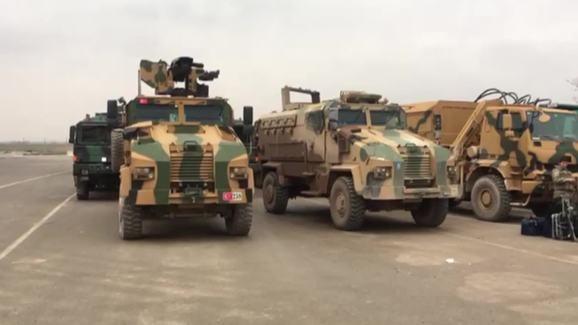 Thổ đổ thêm xe tăng vào chảo lửa Idlib