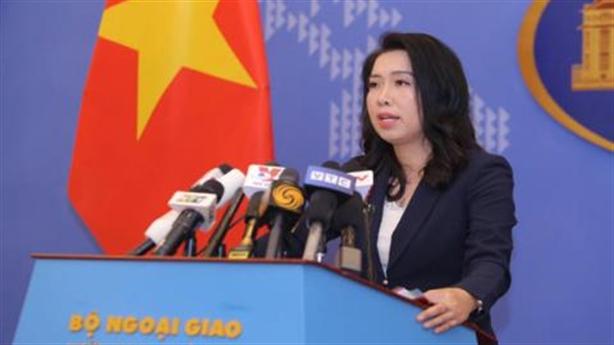 Trao công hàm phản đối vụ Trung Quốc đâm chìm tàu cá