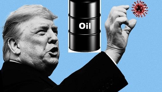 COVID-19 và giá dầu quyết định tương lai của Trump