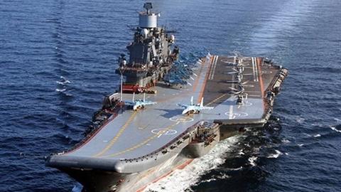 Thiệt hại của tàu Kuznetsov sau vụ cháy 'không đáng kể'