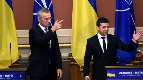 Mỹ 'bật đèn xanh' sớm kết nạp Gruzia và Ukraine vào NATO