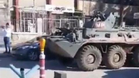 Quân cảnh Nga trấn áp phiến quân người Kurd tại Bắc Syria