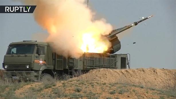 Pantsir-S1 vừa bắn tên lửa Mach 10 chặn đòn siêu thanh