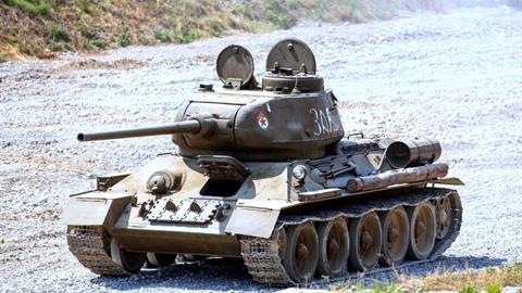 Kỳ tích 3 chiếc T-34 tiêu diệt 30 xe tăng Đức