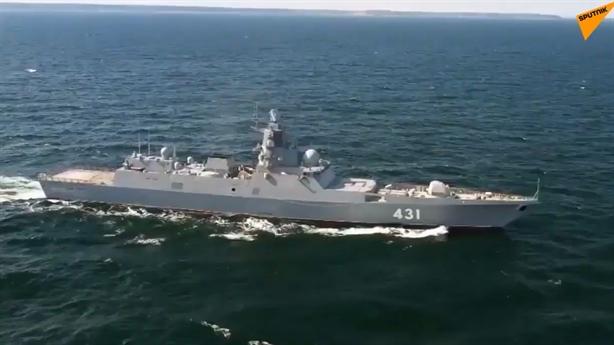 Tàu Đô đốc Kasatonov khiến đối phương tê liệt không cần bắn