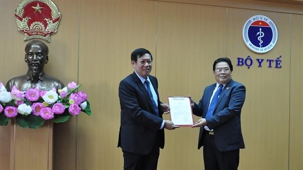 Thứ trưởng Đỗ Xuân Tuyên được chuẩn y chức vụ trong Đảng