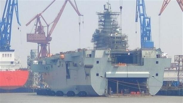 Tiết lộ tình trạng tàu Type 075 Trung Quốc sau vụ cháy