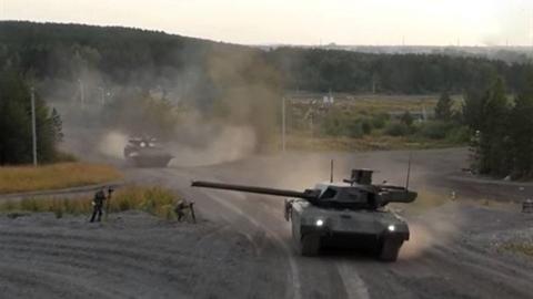 Nga xác nhận tăng T-14 Armata đã tới Syria 'thử lửa'