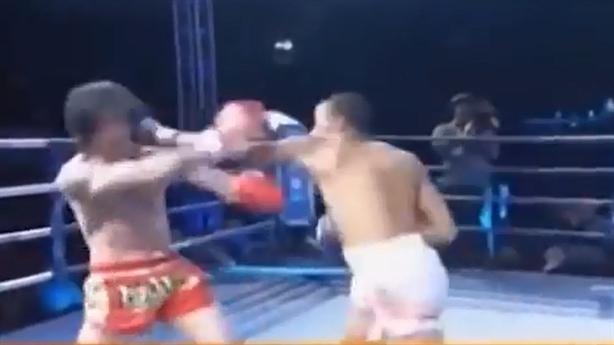 Một đòn vào mặt, võ sĩ Brazil hạ đạo trưởng Võ Đang