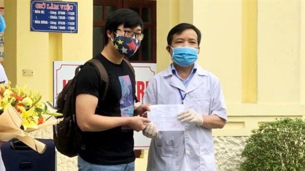 Bệnh viện Nho Quan điều trị khỏi 2 bệnh nhân mắc Covid-19