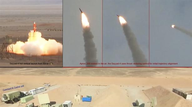 Bavar 373 đã đánh chặn tên lửa Israel?