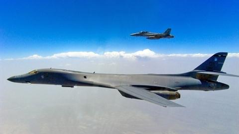 Máy bay ném bom chiến lược Mỹ mô phỏng tấn công Kamchatka