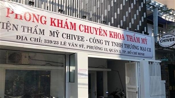 Thanh tra dấu hiệu sai phạm tại Viện thẩm mỹ Chivee