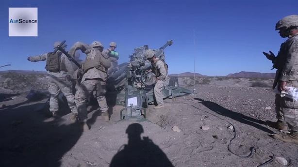 Mỹ dùng M777 bảo vệ mỏ dầu tại Đông Bắc Syria