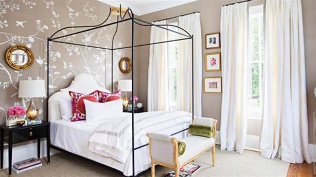 Mẹo chọn tranh dán tường phòng ngủ hợp phong thủy