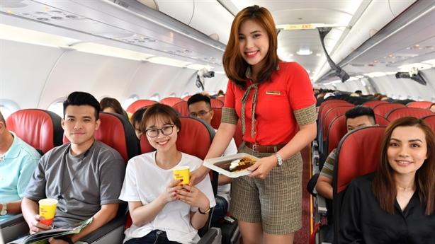 Vietjet tặng hơn một triệu vé khuyến mãi chỉ từ 9 Baht